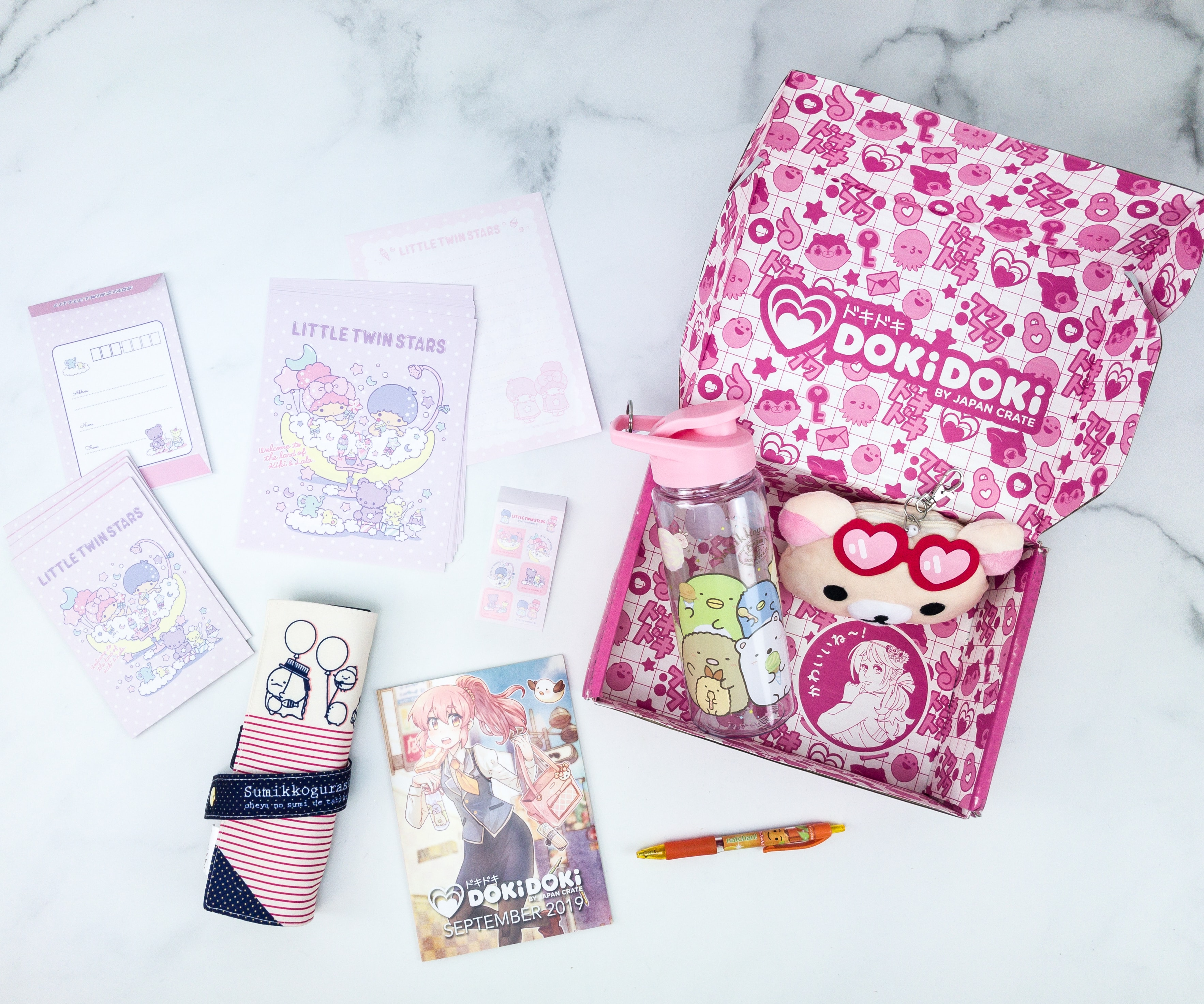 Doki Doki September 2019 Subscription Box Review & Coupon
