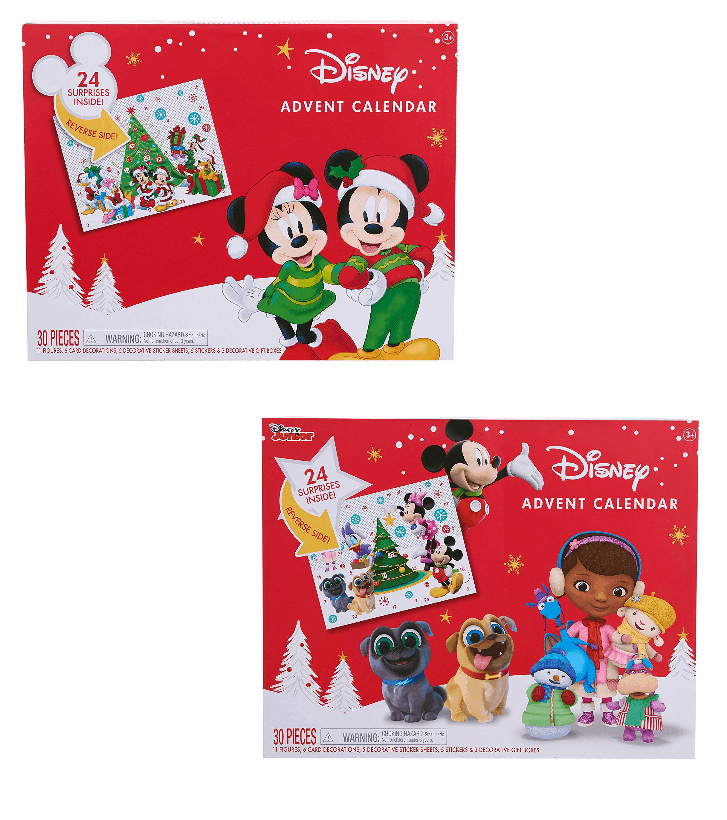 Disney Mickey Mouse & Disney Jr. Advent Calendars $10 Off – TODAY ONLY!