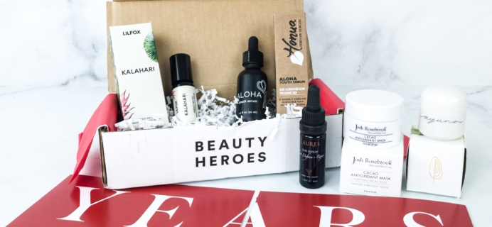 Beauty Heroes September 2019 Subscription Box Review