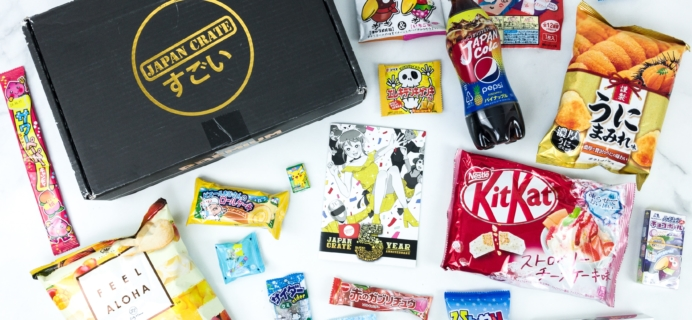 Japan Crate September 2019 Subscription Box Review + Coupon