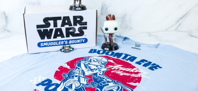 Smuggler's Bounty August 2019 Subscription Box Review – PODRACING BOX