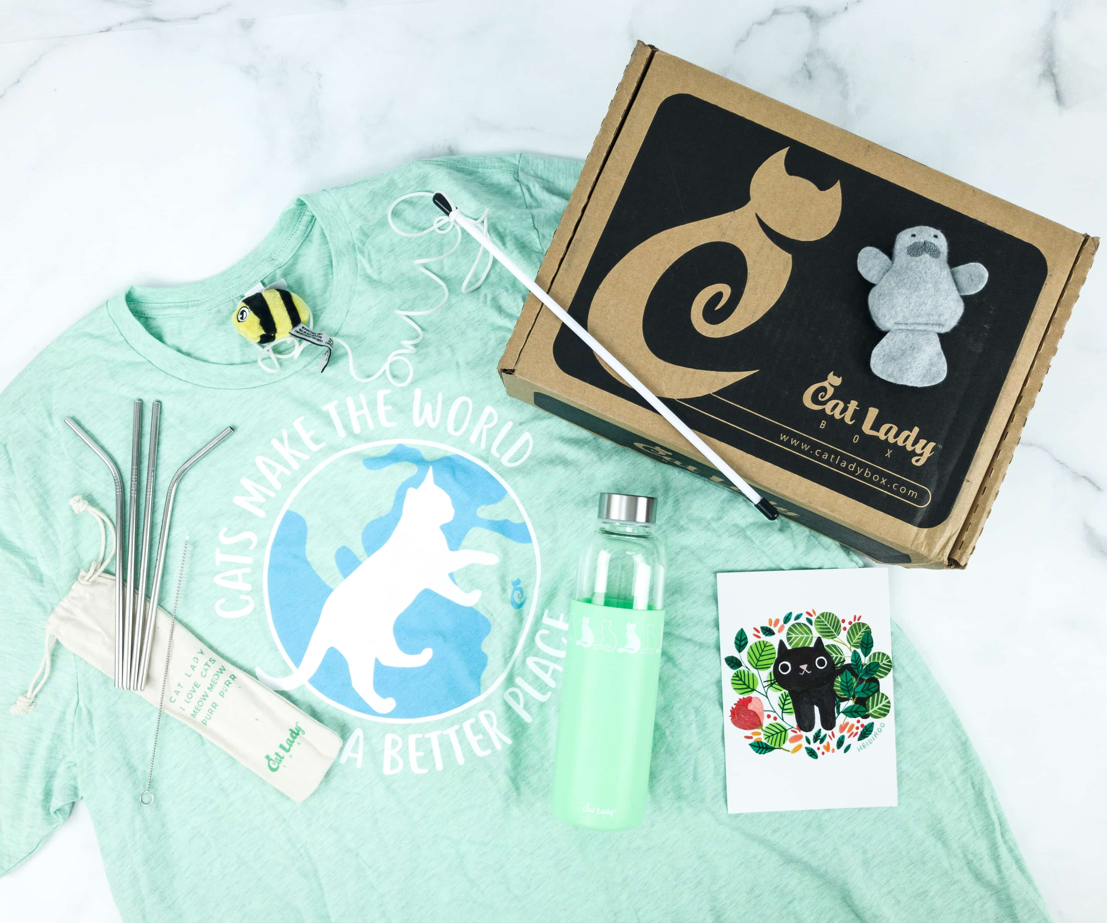 Cat Lady Box August 2019 Subscription Box Review + Coupon