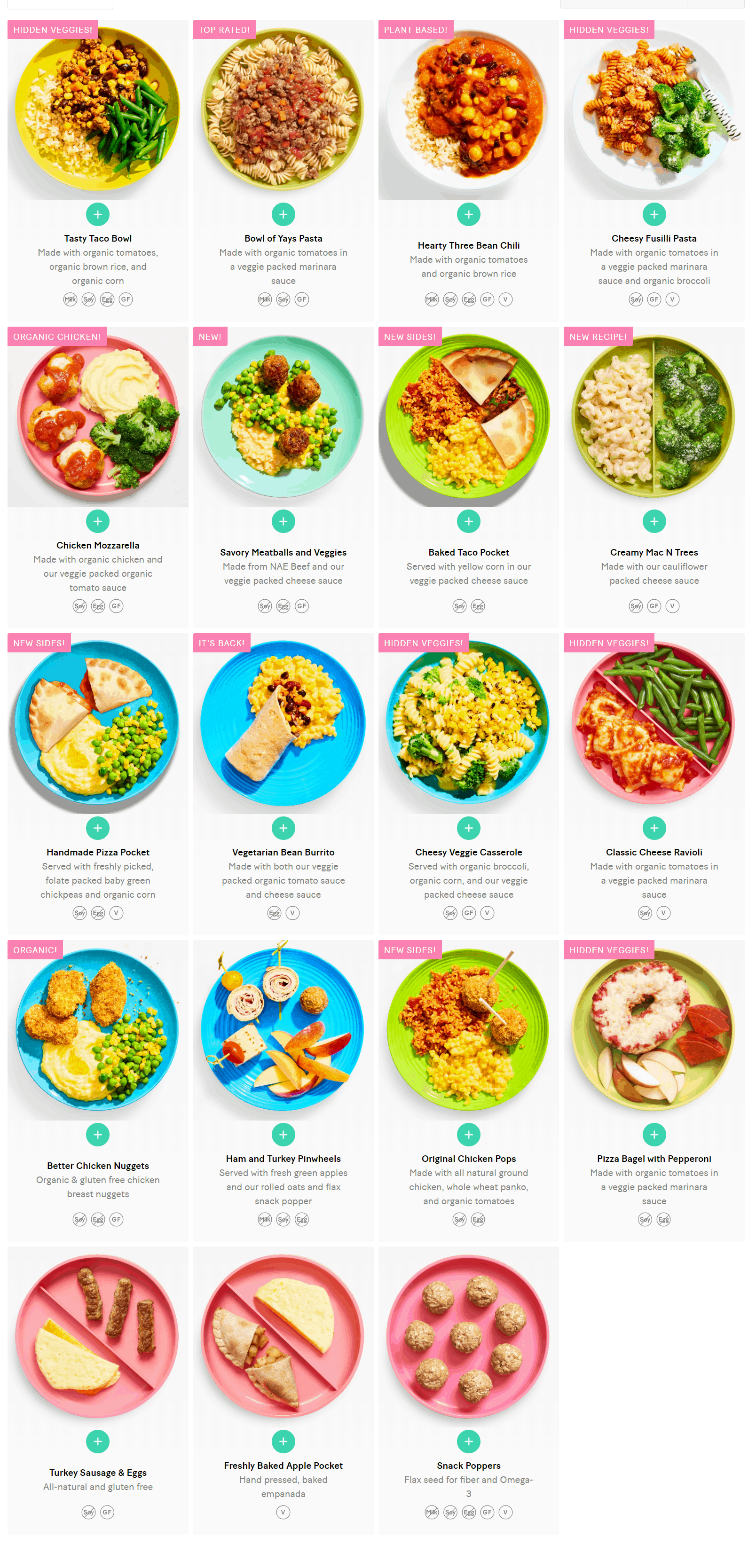 New Yumble Menu Available Now + Coupon!