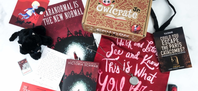 OwlCrate Jr. The Tunnel of Bones Limited Edition Box Review