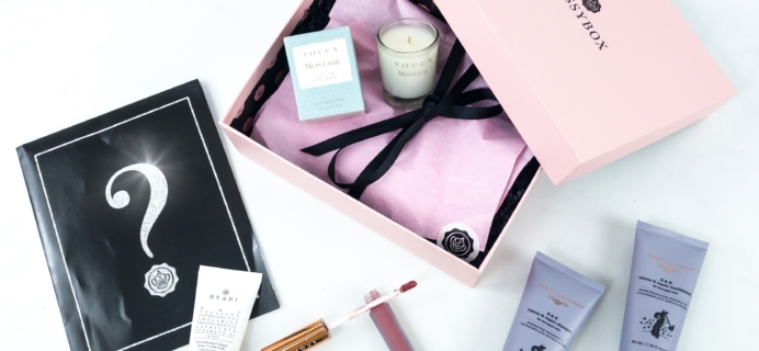GLOSSYBOX September 2019 Subscription Box Review + Coupon
