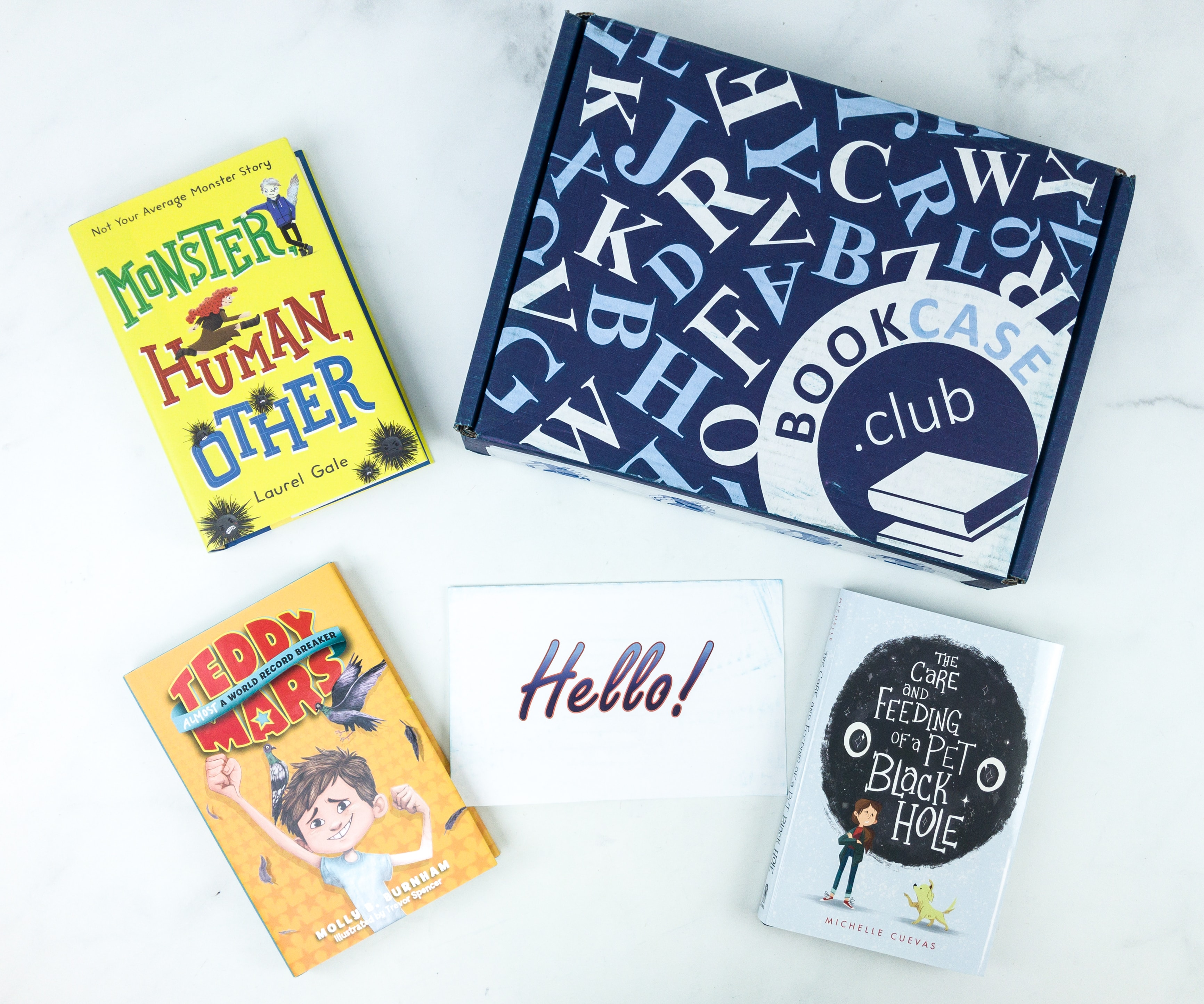 Kids BookCase Club September 2019 Subscription Box Review & 50% Off Coupon – PRE TEEN