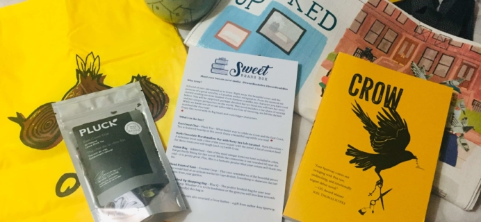 Sweet Reads Box August 2019 Subscription Box Review + Coupon