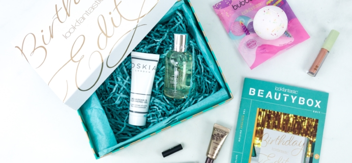 lookfantastic Beauty Box September 2019 Subscription Box Review