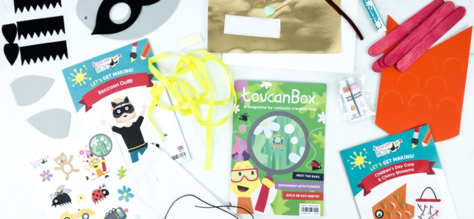 toucanBox July 2019 Subscription Box Review + Free Box Coupon