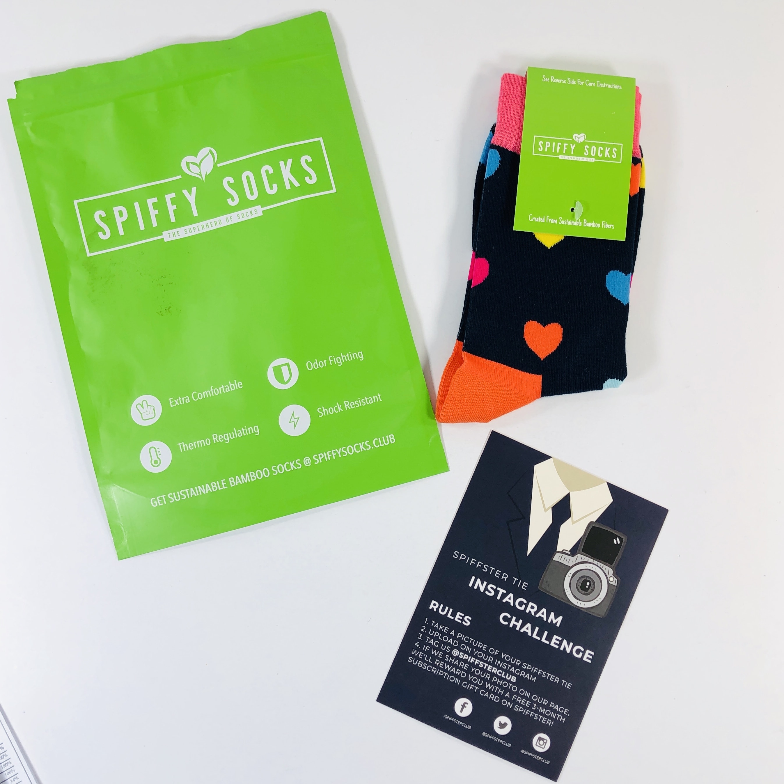Spiffy Socks September 2019 Subscription Box Review  + Coupon