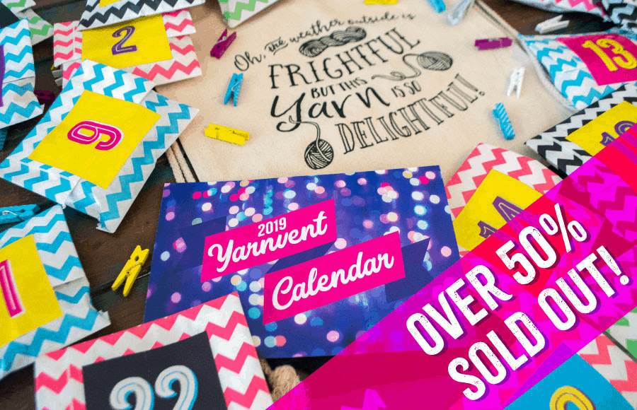 Yarn Crush 2019 Yarnvent Calendar Available Now For Pre-Order + Spoilers – ALMOST SOLD OUT!