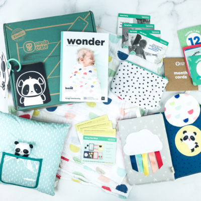 Panda Crate Subscription Box Review! – BOND WITH ME
