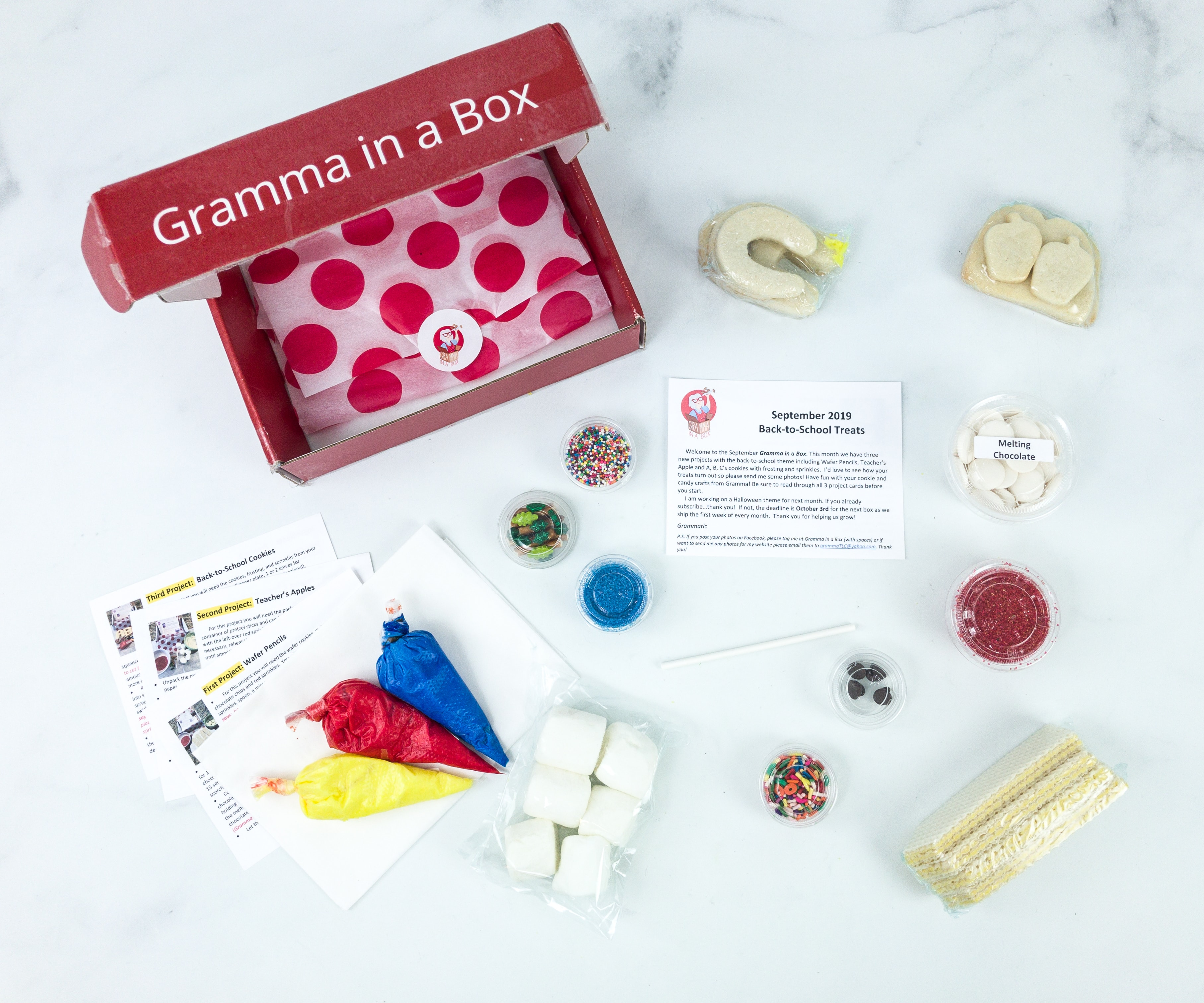 Gramma in a Box September 2019 Subscription Box Review + Coupon