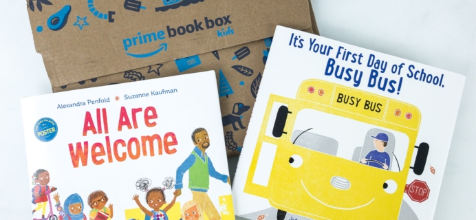 Amazon Prime Book Box Kids Review – AGE 3-5 September 2019