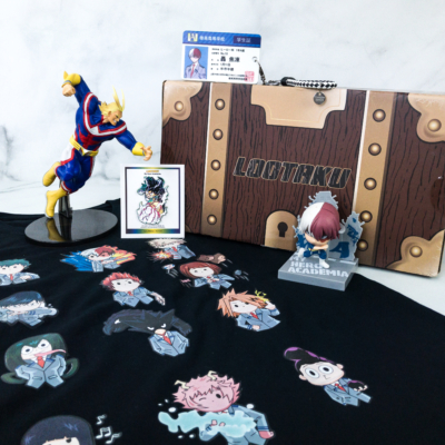 Lootaku August 2019 Subscription Box Review & Coupon