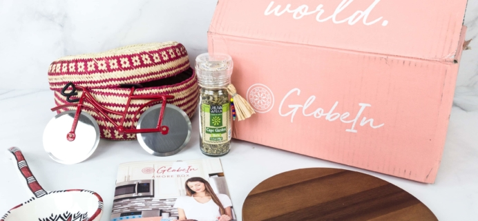 GlobeIn Artisan Box Club AMORE September 2019 Review + Coupon