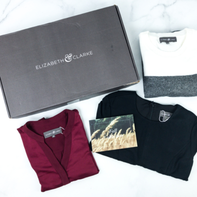 Elizabeth & Clarke Fall 2019 Subscription Box Review + Coupon