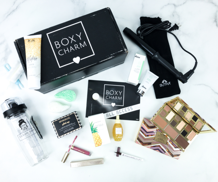 Boxycharm September 2019 Boxyluxe Review Coupon Hello