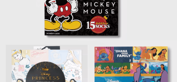 New 2019 Disney Socks Advent Calendars Now Available!
