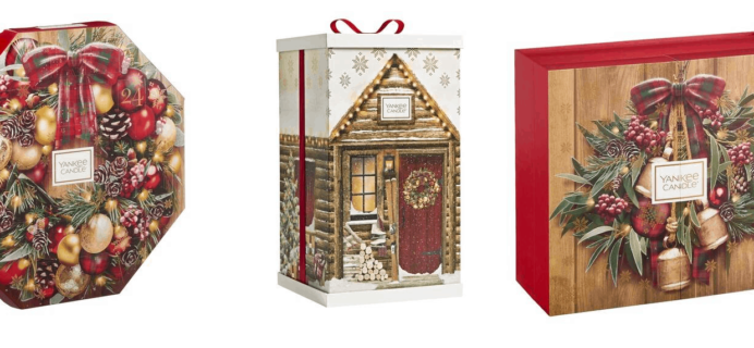Yankee Candle UK 2019 Advent Calendars Available Now + Full Spoilers!