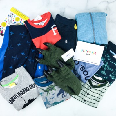 Stitch Fix Kids Review – Little Boys August 2019