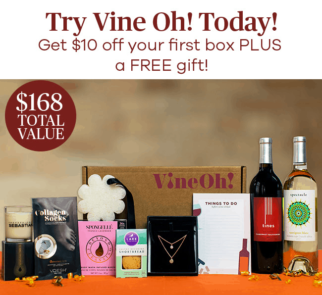 VineOh! Box Sale: Get $10 OFF + Free Wine!