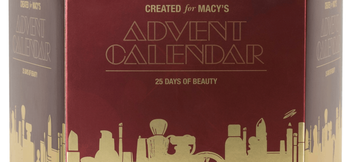 2019 Macy's Beauty Advent Calendar Black Friday Deal: 50% Off!