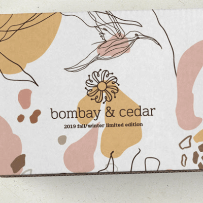 Bombay & Cedar Fall/Winter 2019 Limited Edition Box Spoiler #4 + Coupon!