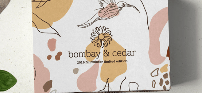 Bombay & Cedar Fall/Winter 2019 Limited Edition Box Spoiler #5 + Coupon!