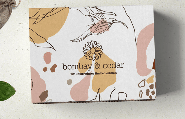 Bombay & Cedar Fall/Winter 2019 Limited Edition Box Spoiler #3 + Coupon!