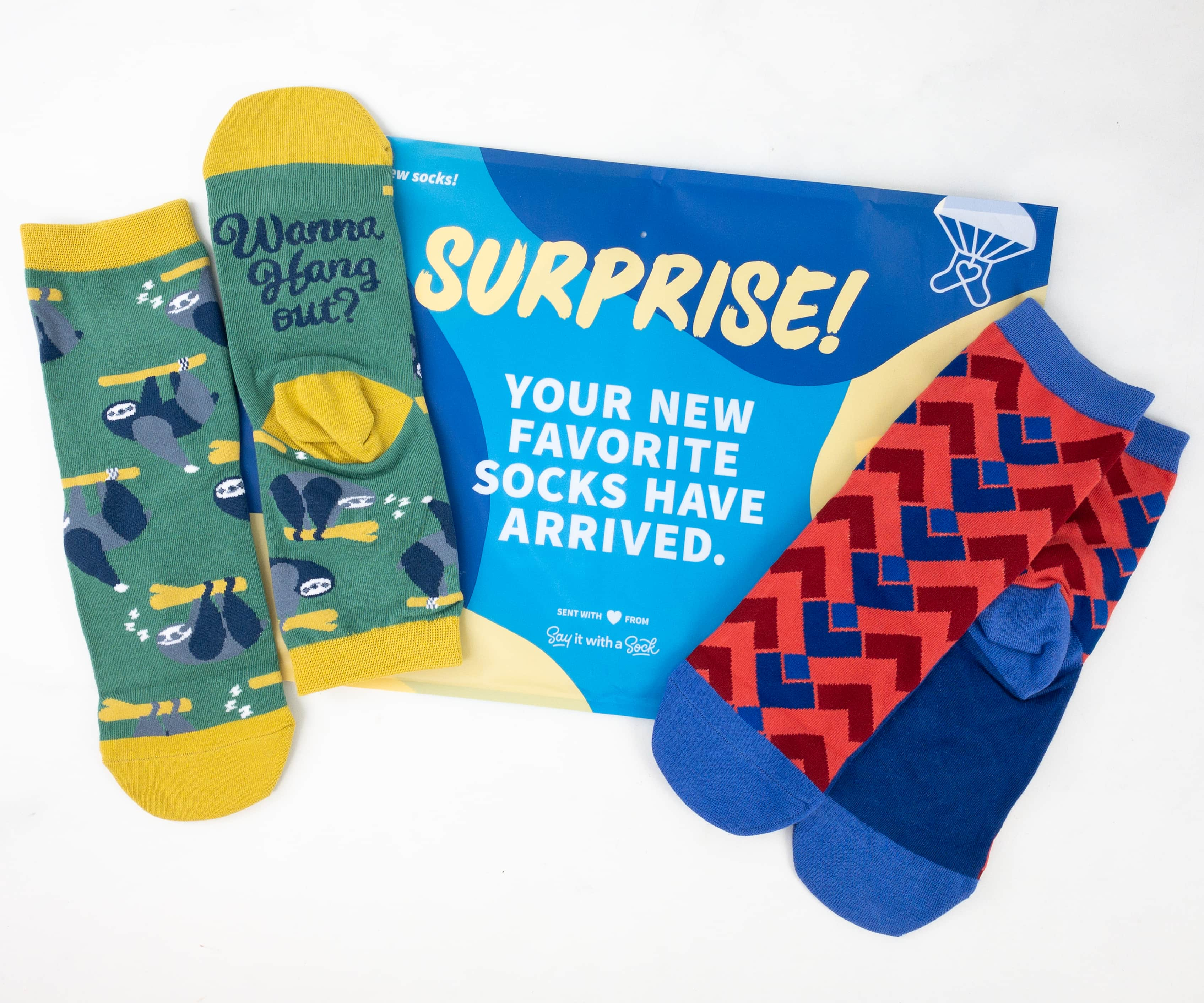 Say It With A Sock September 2019 Kids Sockscription Review + Coupon