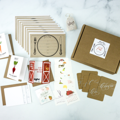 Idea Chic Parcel Post Fall 2019 Subscription Box Review