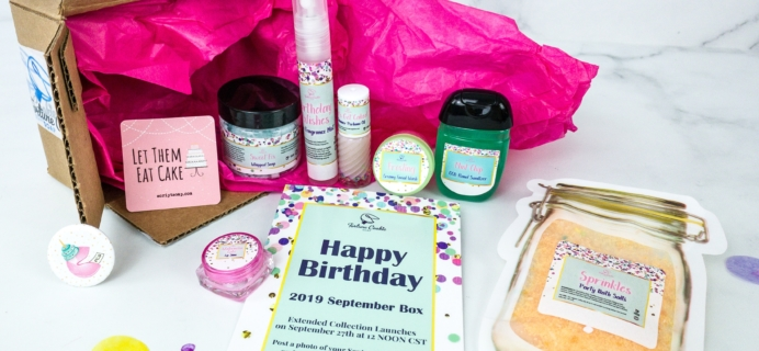 Fortune Cookie Soap FCS of the Month September 2019 Box Review