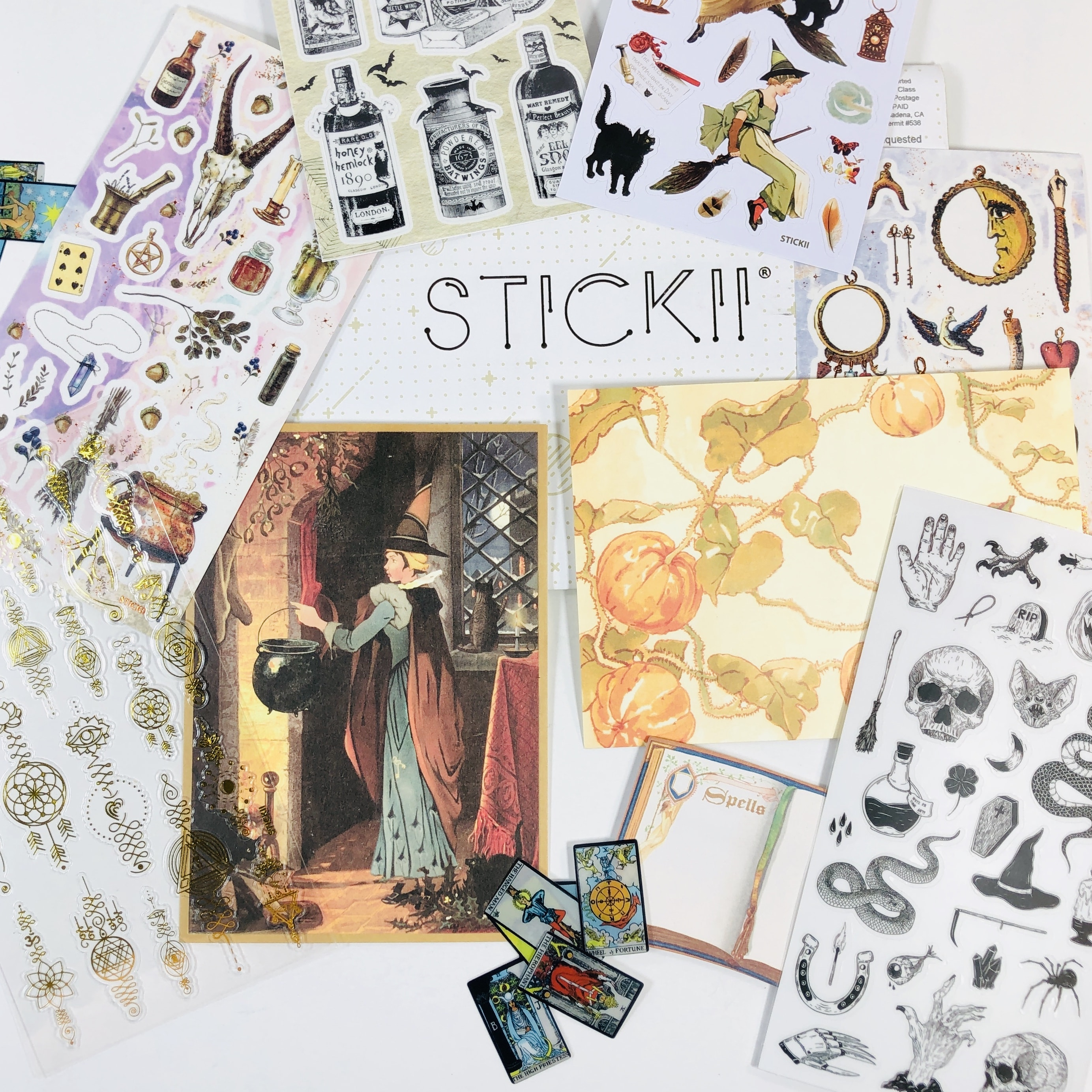 STICKII Club September 2019 Subscription Box Review – Retro Pack!