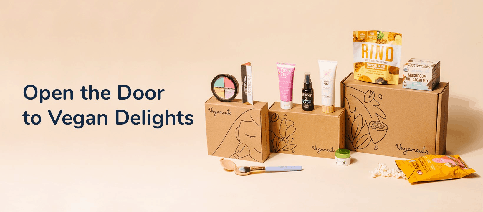 Vegancuts Allergen-Free Beauty and Snack Boxes Available Now!