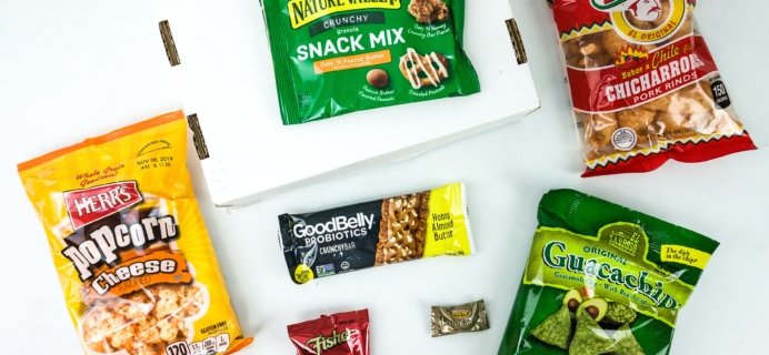 Something Snacks September 2019 Subscription Box Review