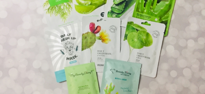 Beauteque Mask Maven August 2019 Subscription Box Review + Coupon *