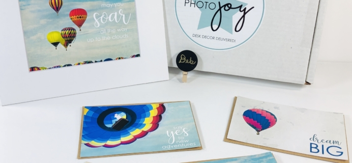 Photo Joy Box September 2019 Subscription Box Review + Coupon