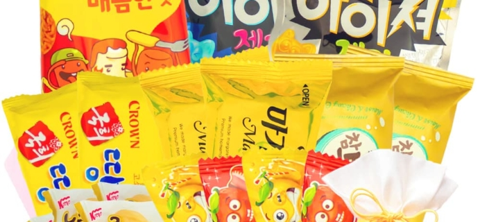 Korean Snack Box Coupon: Get 10% Off Your First Box!