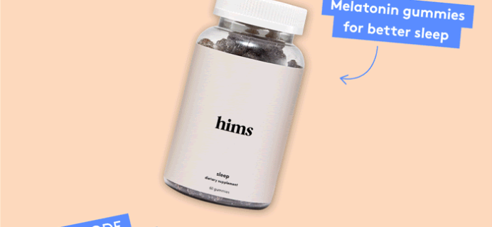 Birchbox Man Sale: FREE Hims Sleep Gummy Vitamins!