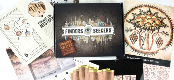Finders Seekers Subscription Box Review + Coupon – JORDAN