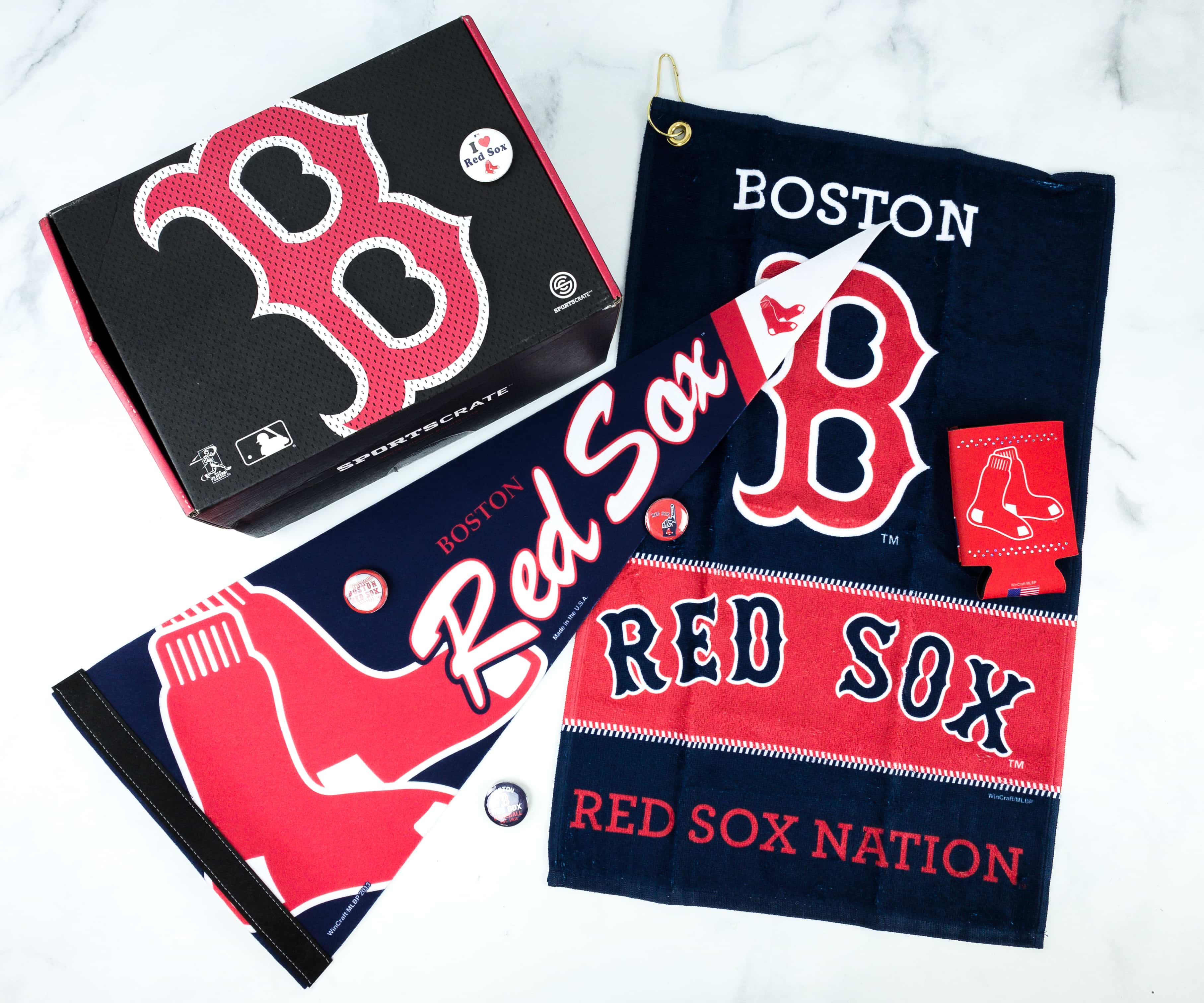 Sports Crate MLB Edition April 2019 Review – Diamond Crate!