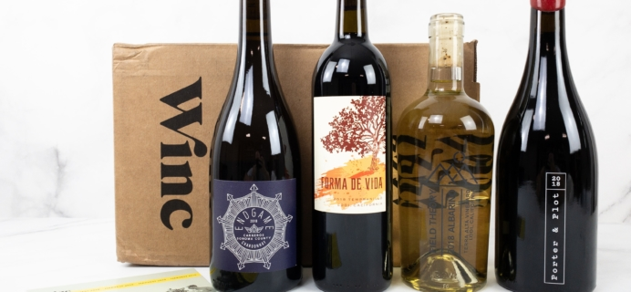 Winc September 2019 Subscription Box Review & Coupon