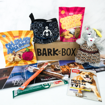 Barkbox September 2019 Subscription Box Review + Coupon – Large Dog