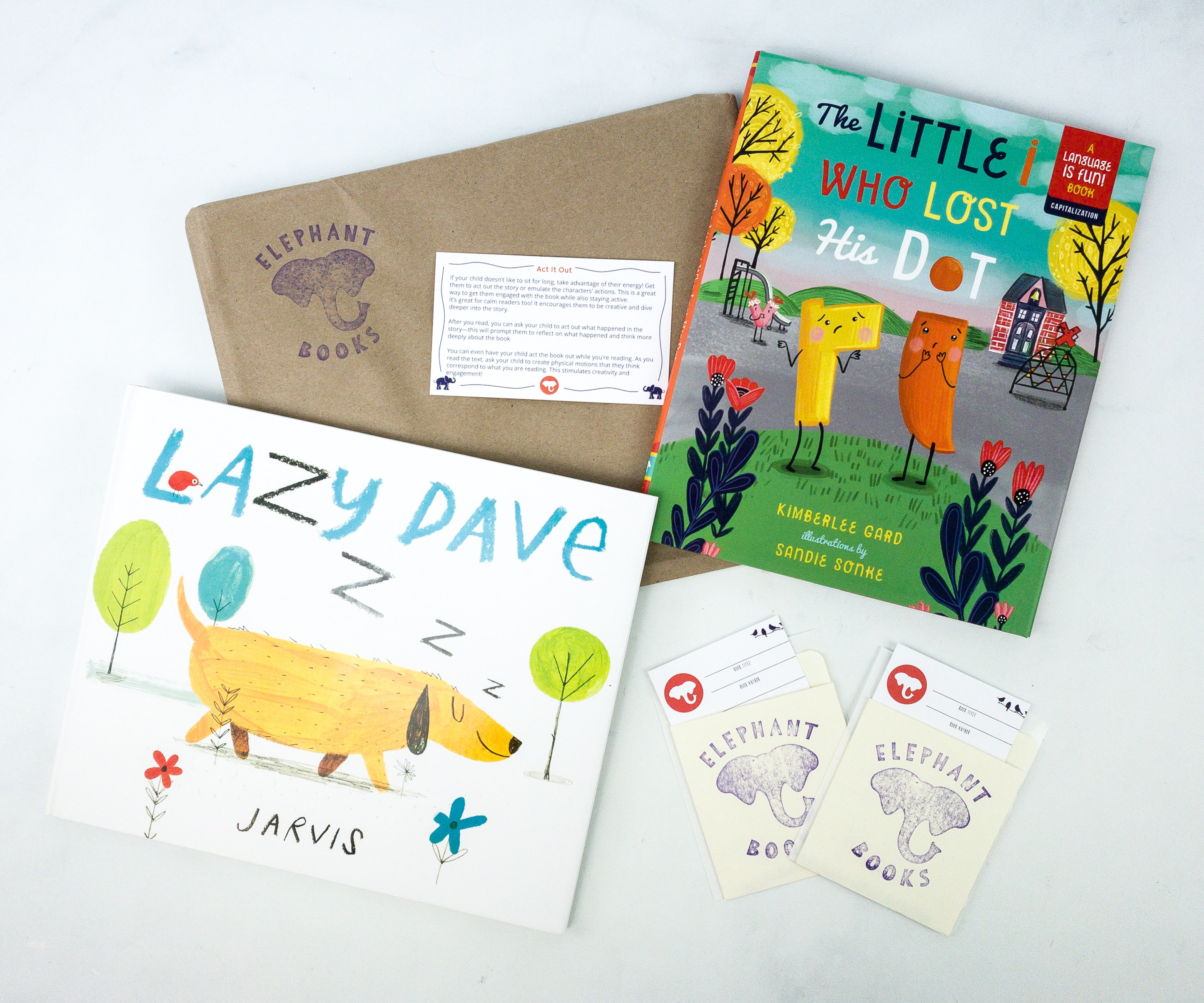 Elephant Books October 2019 Subscription Box Reviews – PICTURE BOOKS
