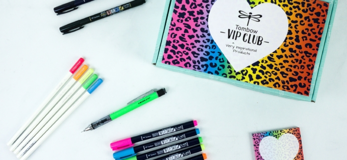 Tombow VIP Club Fall 2019 Box Review