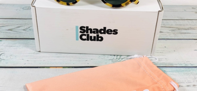 Shades Club September 2019 Subscription Box Review + Coupon