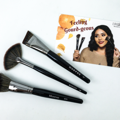 MorpheMe Brush Club October 2019 Subscription Box Review + Free Brush Coupon!