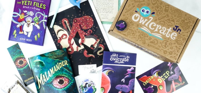 OwlCrate Jr. September 2019 Box Review & Coupon