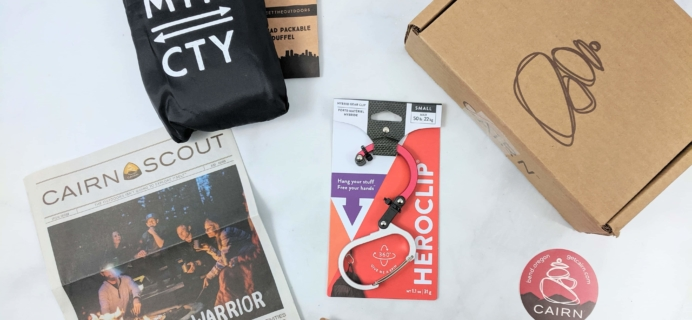 Cairn September 2019 Subscription Box Review + Coupon
